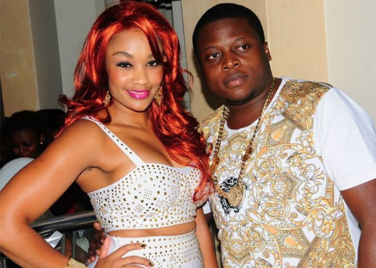 Zari with former hubby, the late Ivan Semwanga