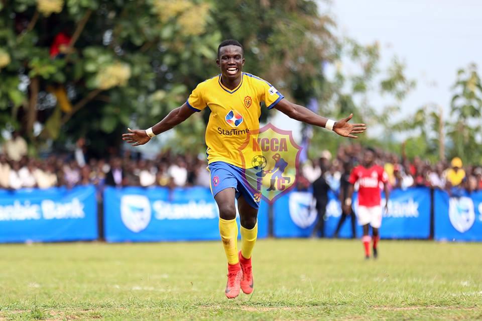 Julius Poloto scored the winner for KCCA FC