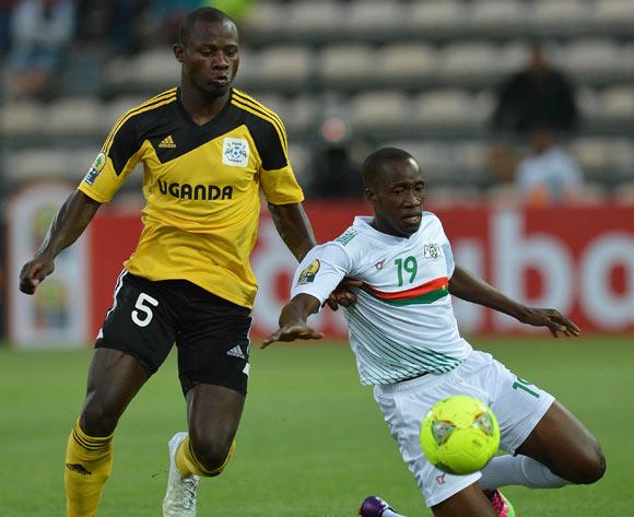 Richard Kasaga (in Cranes jersey) has been released by URA FC