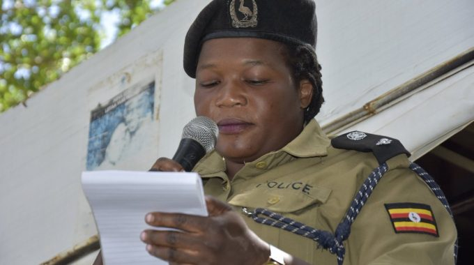 West Nile police spokesperson Josephine Angucia