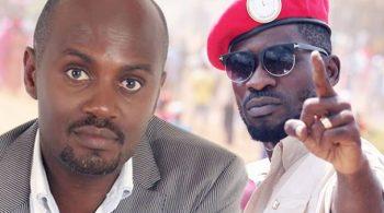 Andrew Mwenda ne Bobi Wine