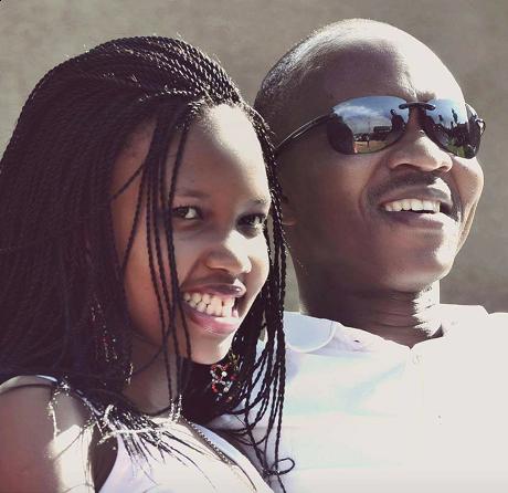 Frank Gashumba ne Sheila Gashumba