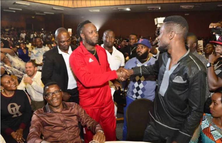 Bobi Wine ne Bebe Cool mu kivvulu kya Kenzo