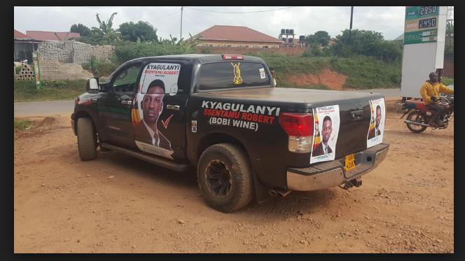 Tundra ya Bobi Wine