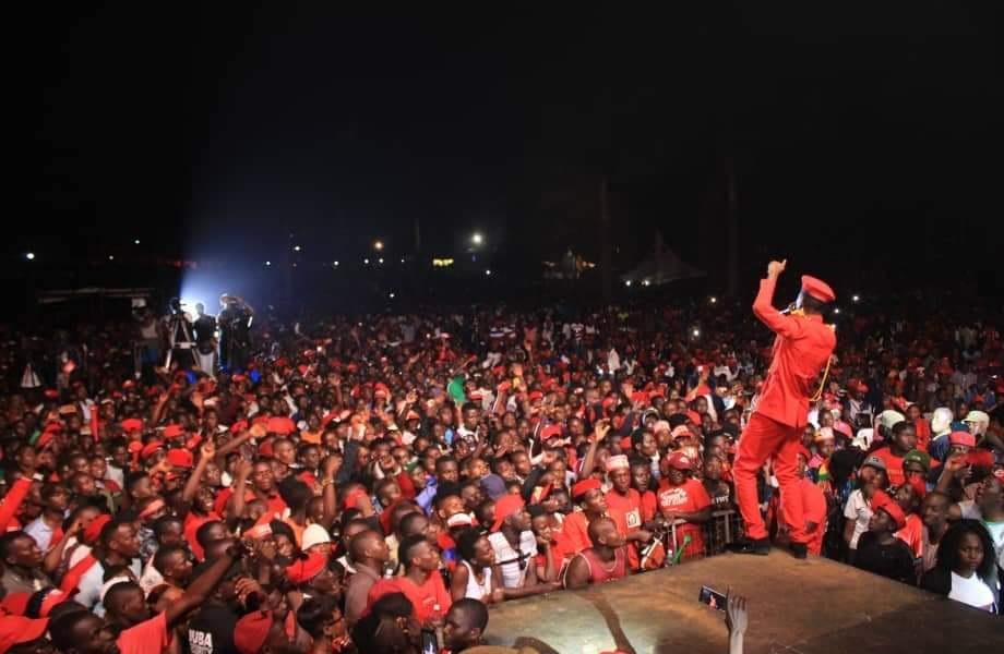 Bobi Wine e Busabala mu Kyarenga