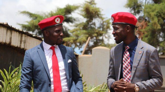 Bobi Wine ne Ssenyonyi