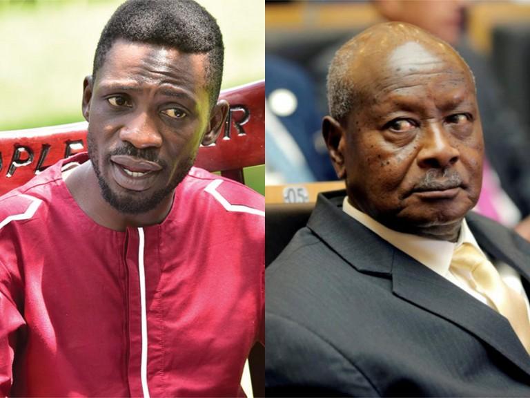 Bobi Wine ne Yoweri Kaguta Museveni