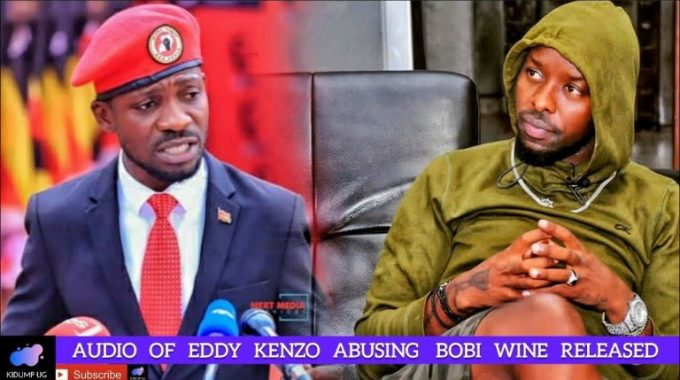 Eddy Kenzo Refuses To Kneel Before 'People Power god' Bobi Wine ...