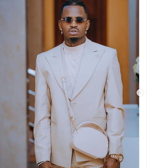 Diamond speaks out on his fashion sense