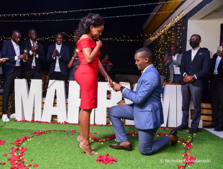 Canary Mugume proposes Sasha Ferguson