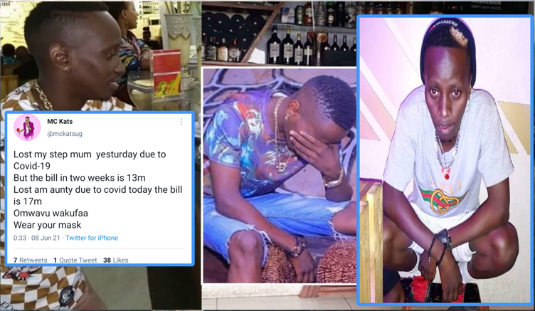 MC Kats confirms death of Mum, sweating to clear overwhelming hospital bills